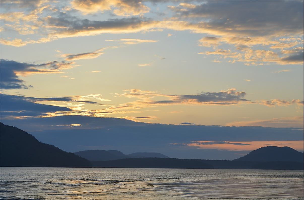 11 Sunset over Rosario Strait.JPG