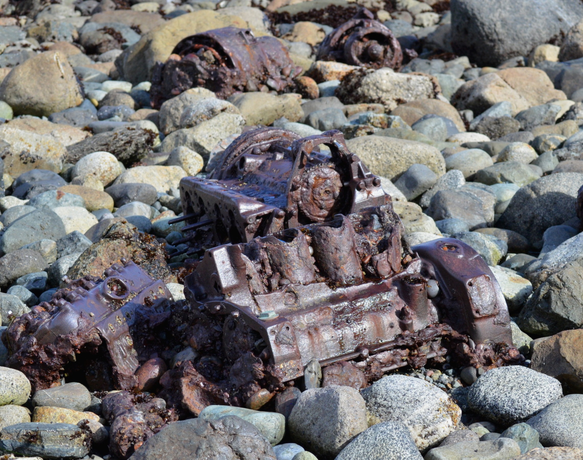 19 Remains of generator.JPG