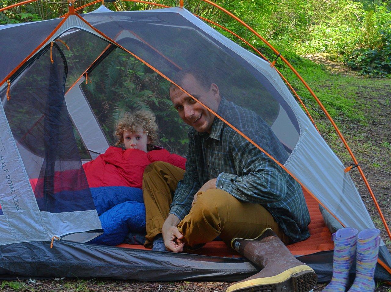 04 Alex and Maya in tent Burrows Island.JPG