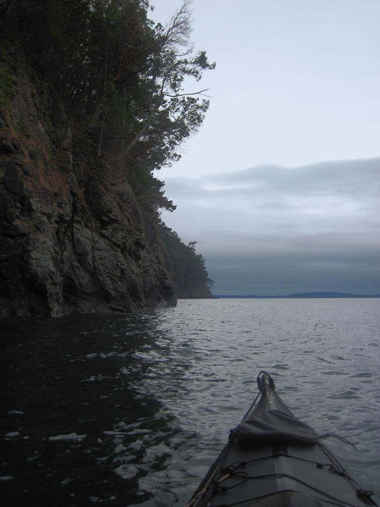 07 Paddling down Orcas Island.JPG