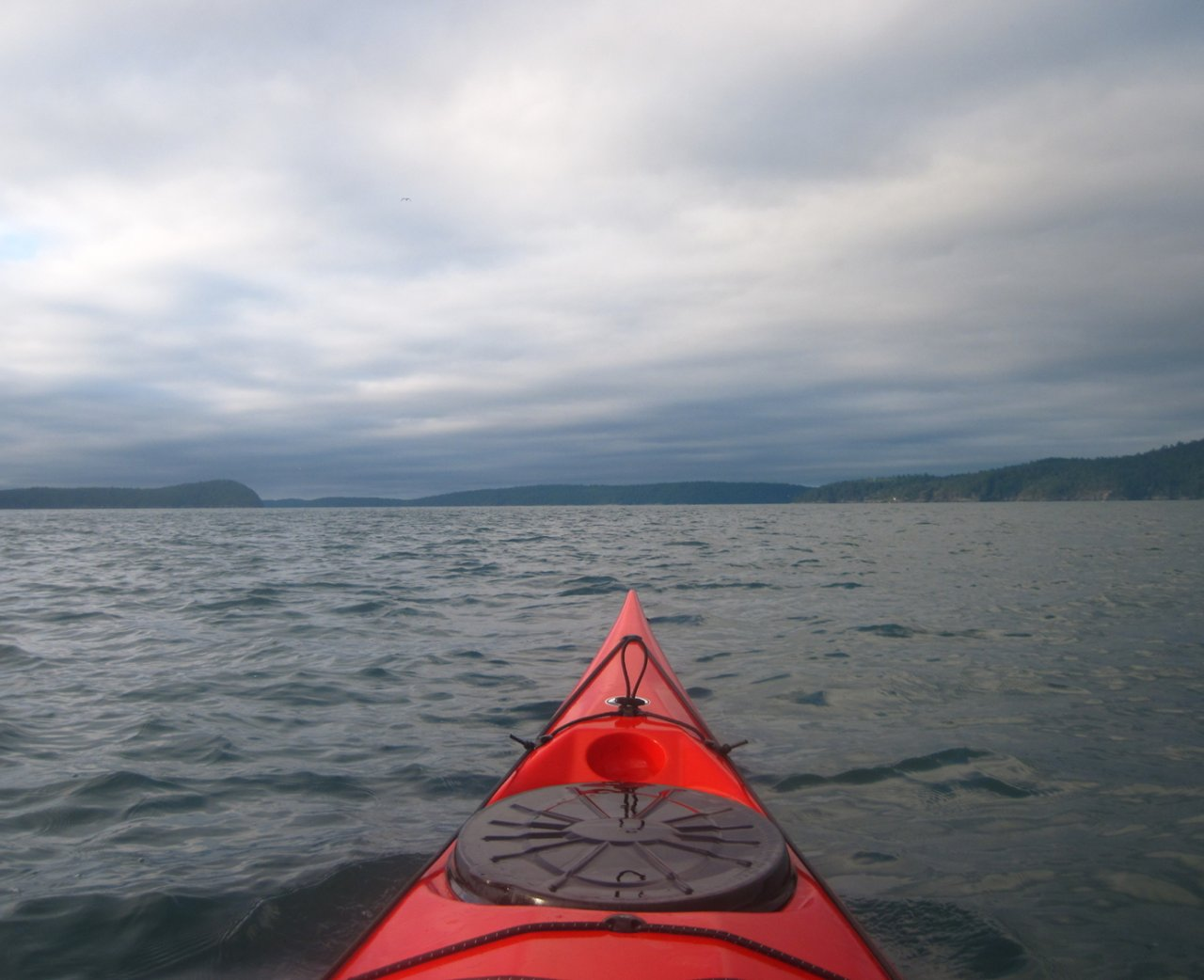 09 Paddling across East Sound.JPG
