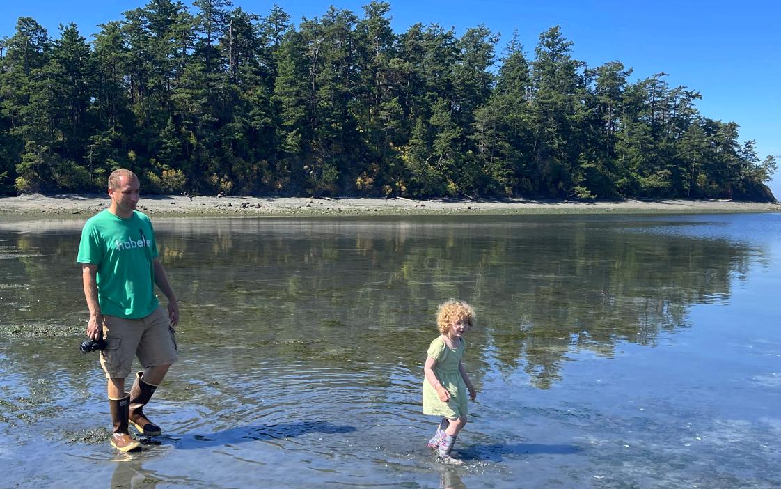 11 Alex and Maya wading Fox Cove.jpg