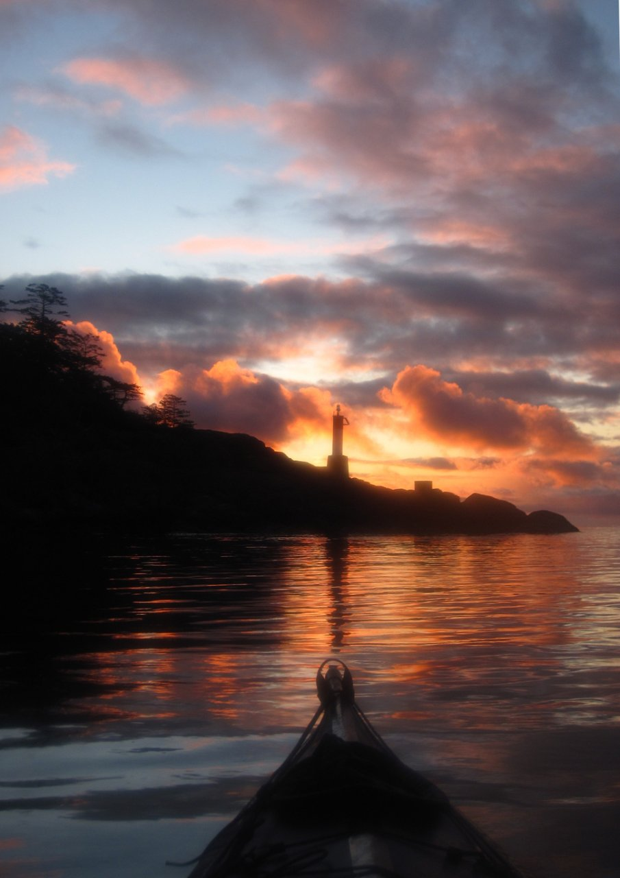 16 Sunrise at Upwood Point Jedediah Island.JPG