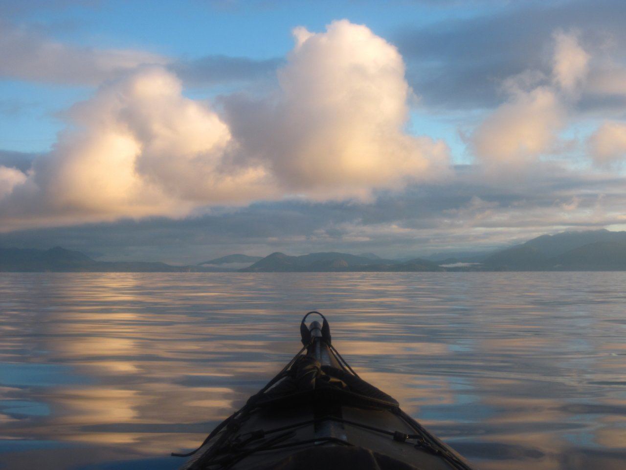 17 Early morning Malaspina Strait.JPG