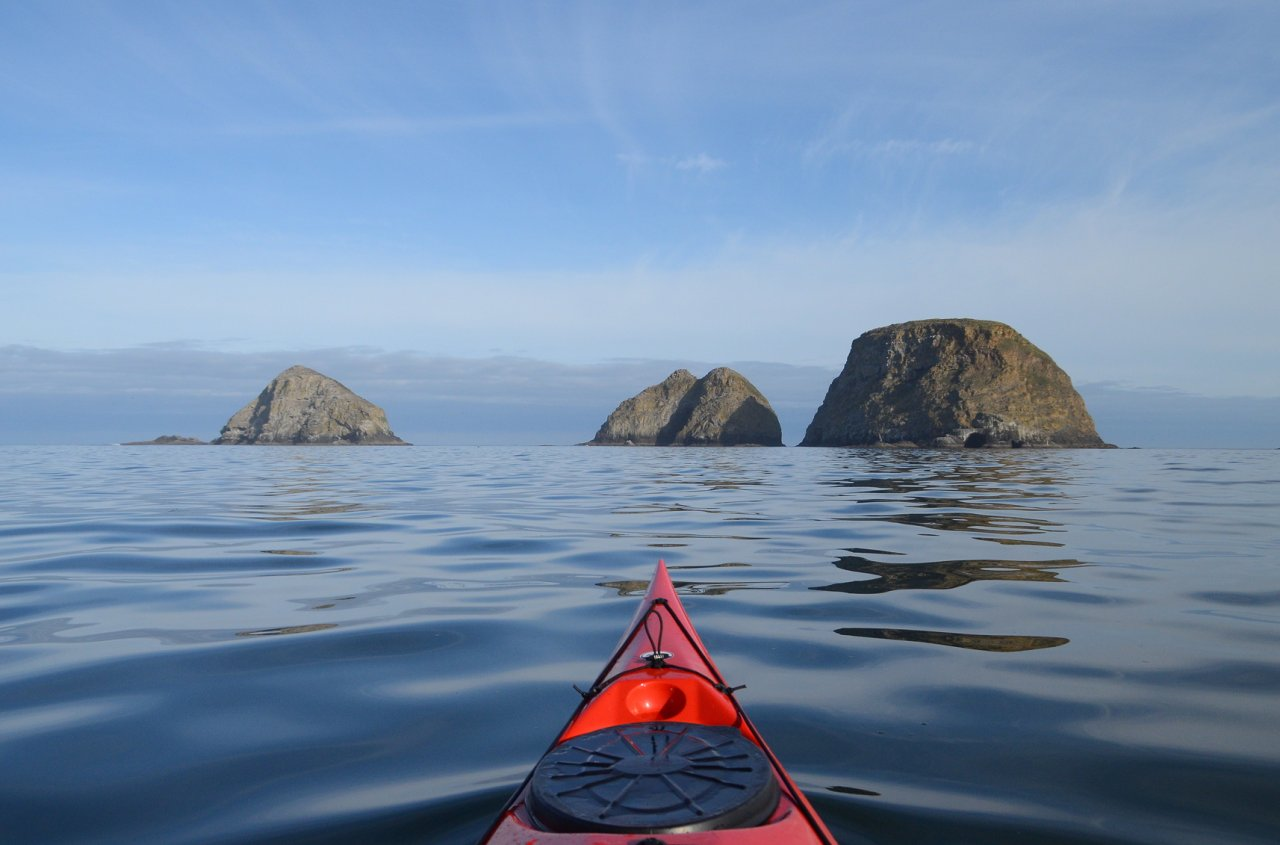 23 Kayaking at Three Arch Rocks near Cape Meares.JPG